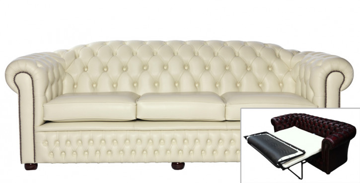 Chesterfield Schlafsofa Cambridge 3-Sitzer