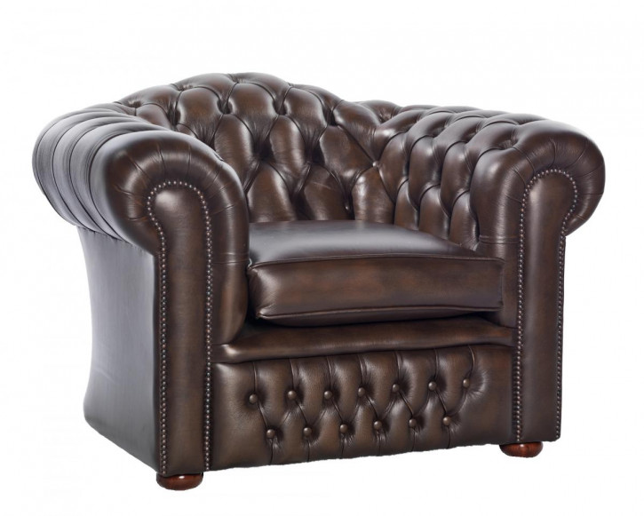 """Cambridge"" Chesterfield Sessel"