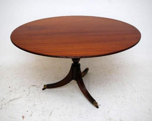 Regency  stil Mahogoni  Dining Table Tisch Rund
