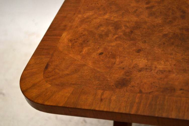 Nussbaum  Walnut X- Frame Coffee Table