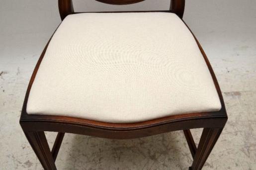 8  er Satz Antiik  Georgian Stil  Mahogany Dining Chairs