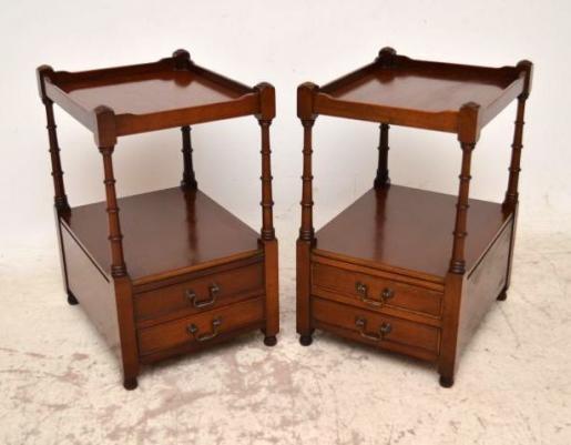 antiker beistelltisch mahagoni georgian. Black Bedroom Furniture Sets. Home Design Ideas