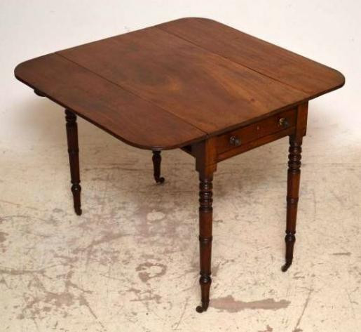 Antiker Mahagoni Tisch  Pembroke Table