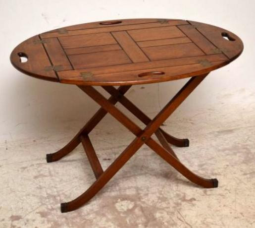 Butlers Table Sofatisch Beistelltisch abnehmbare Platte