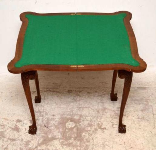 Kartentisch Spieltisch im georgianischen Stil
