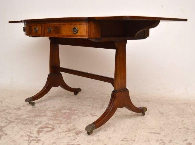 Sofa Tisch aus Mahagoni