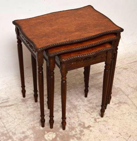 Nest of tables 3-teilig Beistelltische