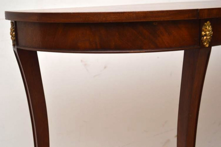 Konsolentisch Wandtisch aus Mahagoni