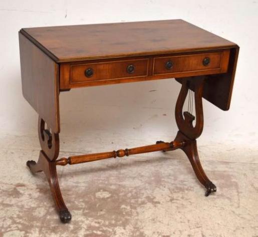Eibenholz Tisch antik