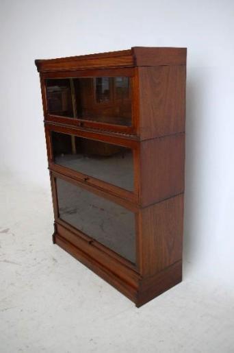 Antiker Edwardian Globe Wernicke Bücherschrank