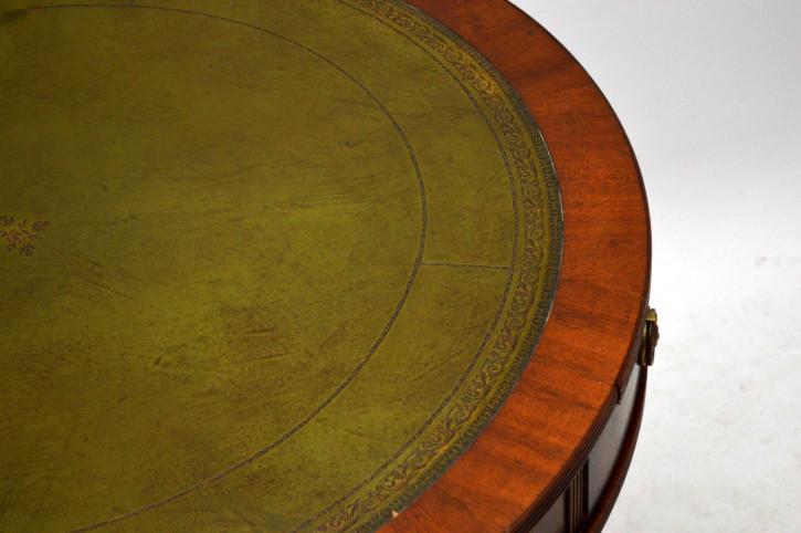 Drum Table im Regency-Stil aus Mahagoni