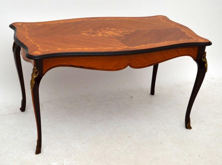 Antiker coffeetable sofatisch beistelltisch kleiner tisch for Kleiner sofatisch