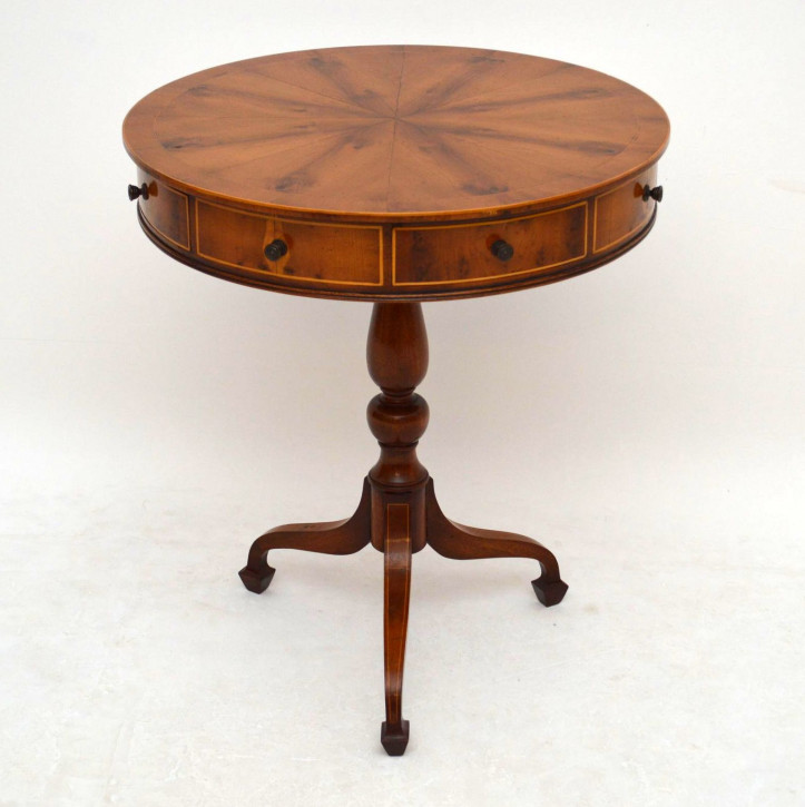 Antikes Drum Table georgianischer Stil