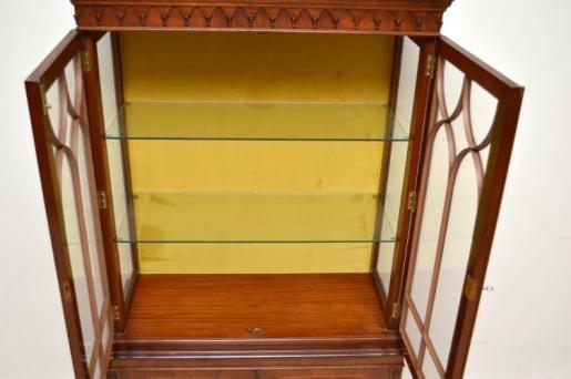 Two door bookcase  georgianischen Stil Mahagoni  Antik