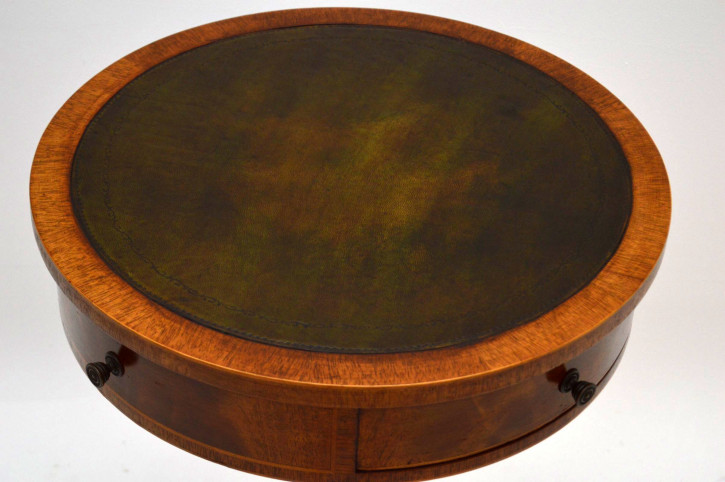 Antikes Mahagonie Drum Table