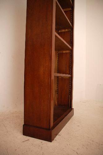 Antikes Rekonstruirtes  Mahogany Open Bookcase