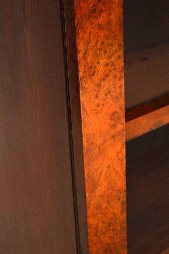 Offenes Antique Victorian Burr Walnut  Regal