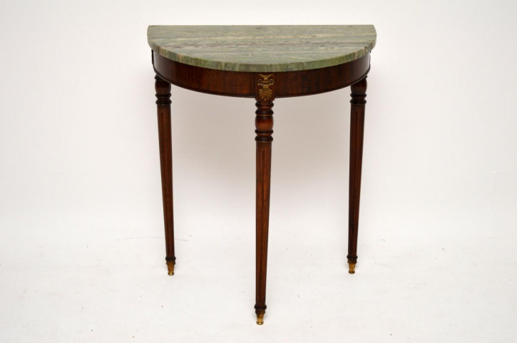 Faltbarer antiker edwardian mahagoni sutherland tisch for Marmor beistelltisch