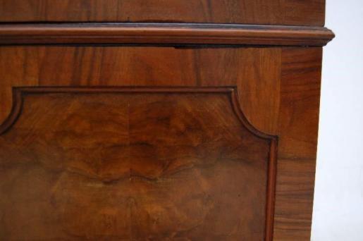 Antiker Edwardian Bücherschrank Holzschrank Antike Vitrine