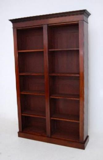 Antiker Mahagoni Bücherschrank Bücherregal Mahagoni Möbel