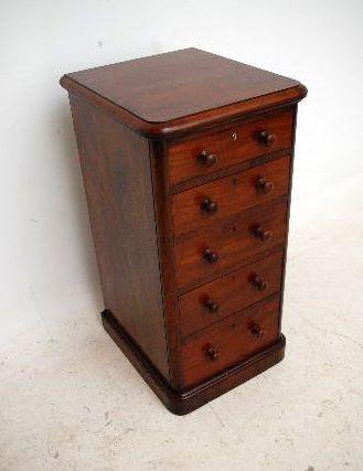 Mahagoni Kommode Antike Schubladenkommode - Victorian Stil