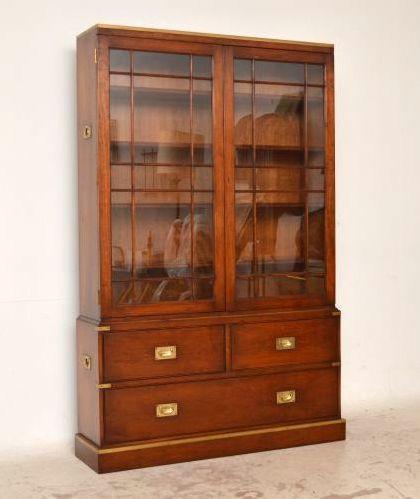 Mahagony Bücherschrank Bookcase antik mit toller Optik