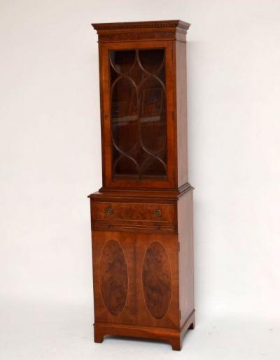 Antikes kompaktes Bookcase