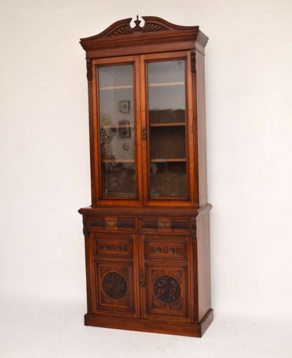Viktorianisches extravagantes Bookcase