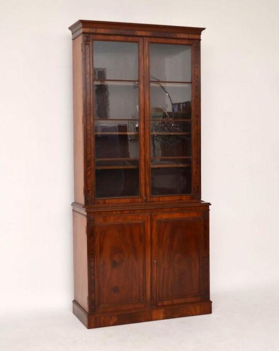Antikes Mahogany Bookcase