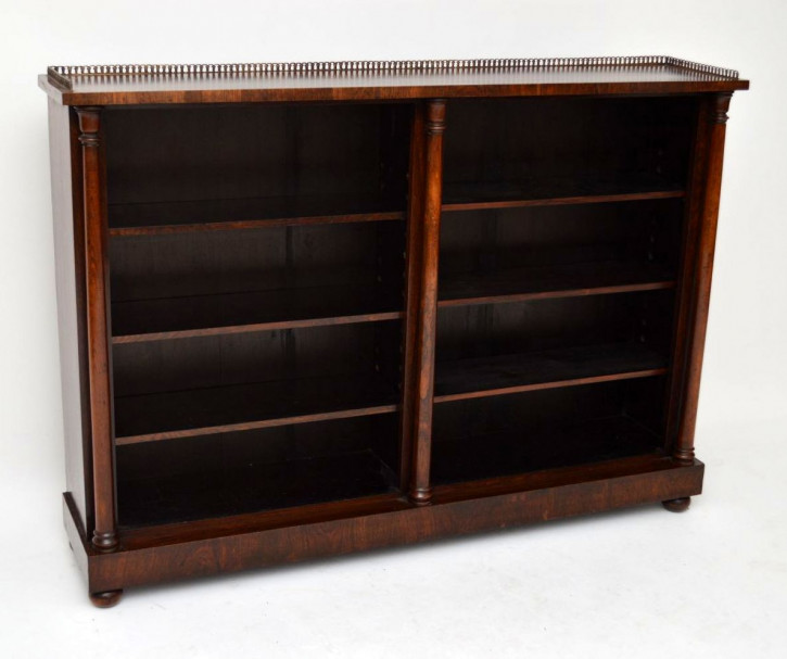 Open Bookcase aus Rosewood antik