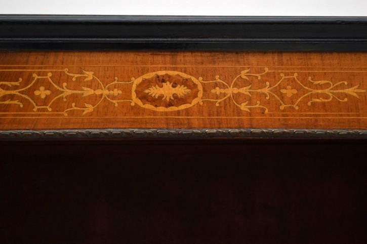 Antikes Open Bookcase Bücherregal