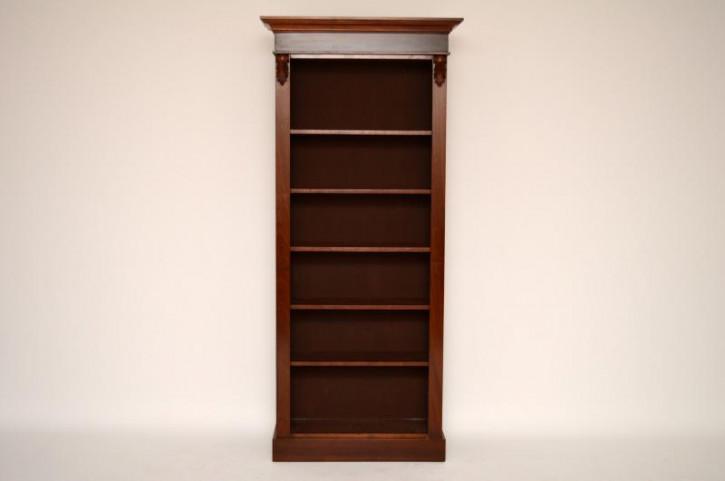 Mahagoni Offener Bücherregal