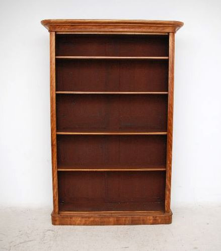 Offenes Bookcase Antique Victorian Satin Birch