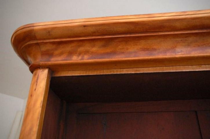 Offenes Bookcase Antique Victorian Satin Birch