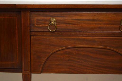 Antiikes  Edwardian  Intarsiertes  Mahogany Sideboard