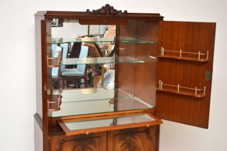 Antike Bar Cocktail Cabinet Hausbar