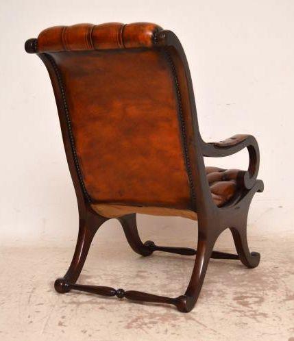 Paar antike Regency Armchairs