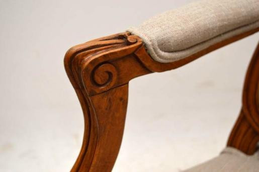 Antike französische Salonchairs