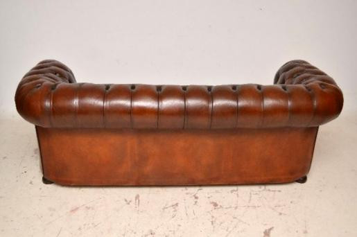 Antikes chesterfield 3 seater  sofa Original