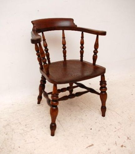 seltener original smokers bow  Ulmen Captains Chair