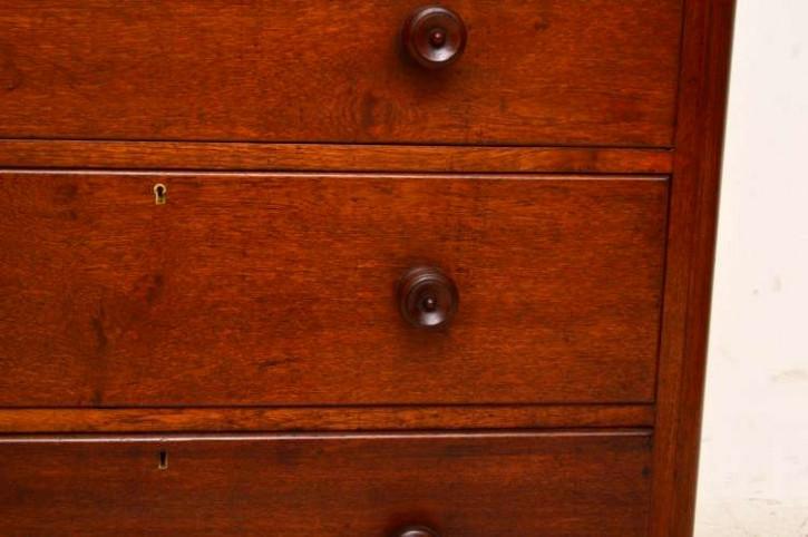 Antike Kolonial Kommode 5 Schubladen