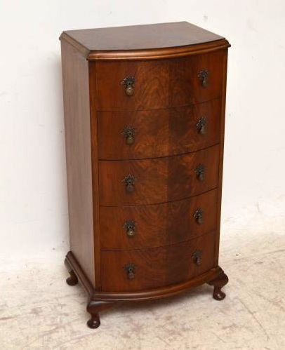 Antike schlanke Kommode Chest of Drawers