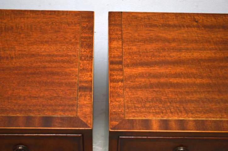 Antikes Paar Kommoden Mahagoni