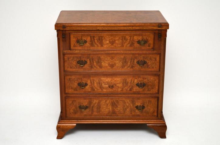 kleine antike edwardian mahagoni kommode. Black Bedroom Furniture Sets. Home Design Ideas