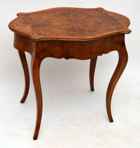Antiker Viktorianischer Bureau Plat Schreibtisch Bürotisch aus Massivholz