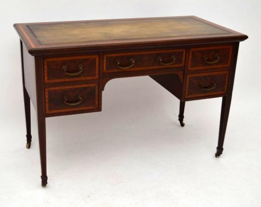 Schöner antiker Edwardian Schreibtisch