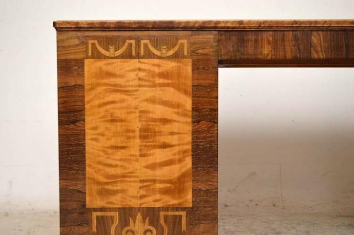 Schedisches  Satin Birch & Rosewood  Schreibtisch