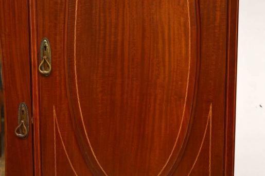 Kleiderschrank Mahagoni Edwardian