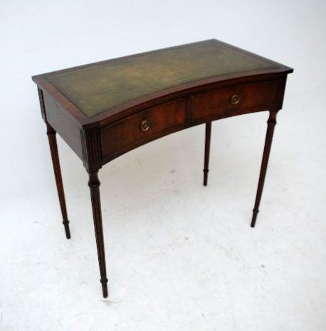 Antiker Regency Schreibtisch - Mahagoni
