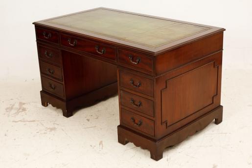 Antiker Schreibtisch - Georgian - Mahagoni